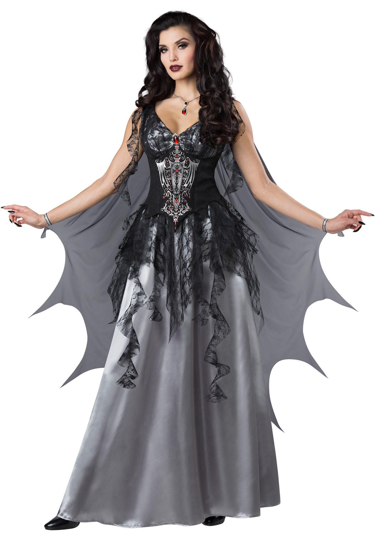 Women's Dark Vampire Countess Costume - FOREVER HALLOWEEN